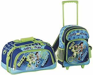 66d06e781365 Heys Disney Pixar Toy Story Toys at Play 2pc Rolling Backpack ...