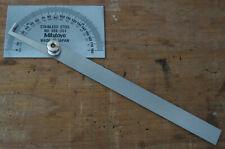 Mitutoyo 968 201 Protractorrectangular6 In Blade