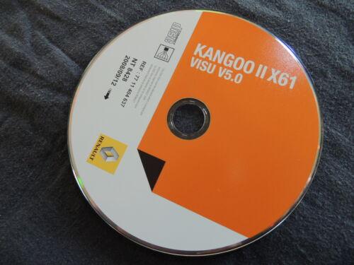 RENAULT KANGOO II a partire dal 09.2008 Officina Manuale Schemi Impianto Elettrico x61