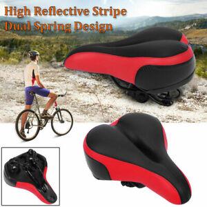 Wide-Big-Bum-Bike-Bicycle-Gel-Cruiser-Extra-Soft-Comfort-Sporty-Pad-Saddle-Seat