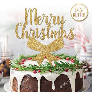 Christmas Cake Topper Ebay