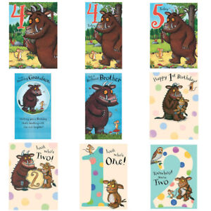 The Gruffalo Birthday Cards Assorted I Ebay