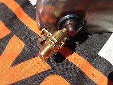 "Harley 750 45"" WL WLA WLC Flathead Tank Hahn Oel Custom Tank tap oil"