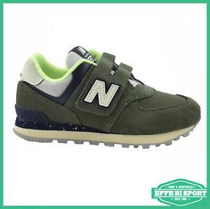 Non cè modo ufficiale Rafflesia Arnoldi  Scarpa da bambino New Balance 574 con velcro per tempo libero e sport  sneakers | eBay