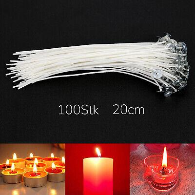15 cm gewachst und mit Fuß Kerzendocht Docht Kerzen selbst gestalten