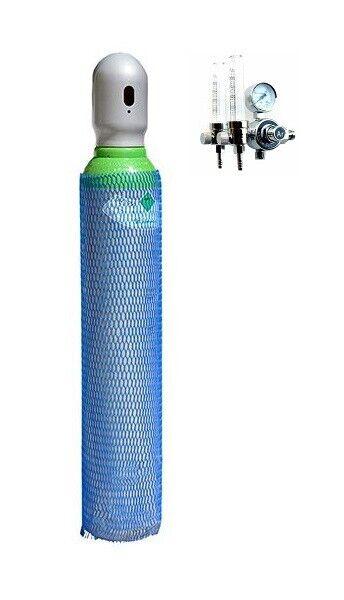 Gasflasche 8 Liter ARGON 18/% Schutzgas Schweißgas MIG fabrikneu 82/% + CO2