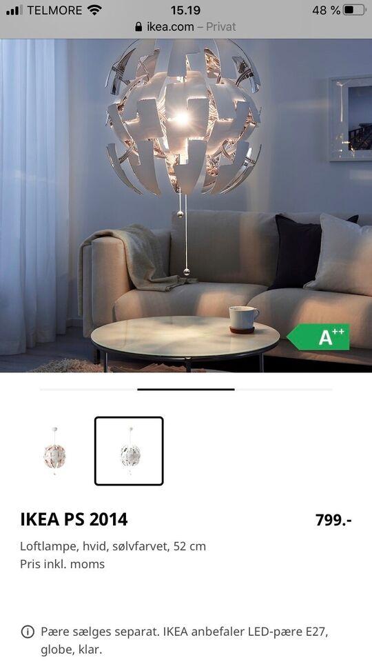 Anden loftslampe, Ps2014 – dba.dk – Køb og Salg af Nyt og Brugt