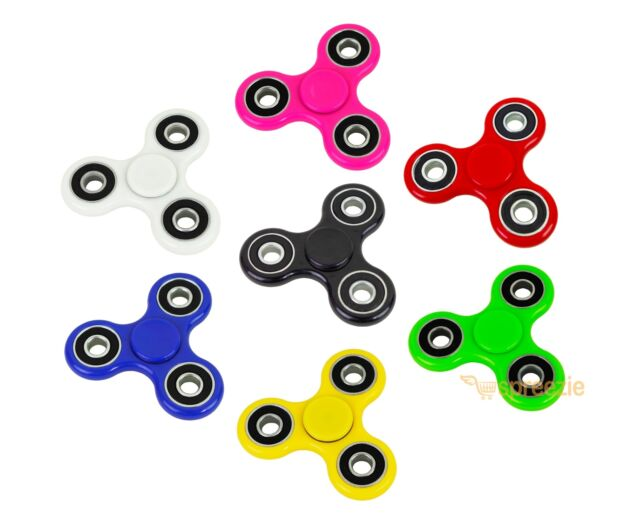 FIDGET SPINNER GLOW SPINNERS Hand Finger EDC Focus Stress Reliever Toys games