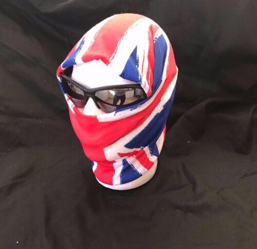⭐ Union Jack Viso Maschera Scalda Collo Tubo Sciarpa Bicicletta Sci Basso di lenza Balaclava Bandana ⭐