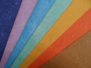 fait-a-la-main-Magnifique-coton-et-soie-feuilles-de-papier