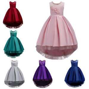 Beading-Flower-Girl-Dress-For-Wedding-Junior-Trailing-Gown-Party-Prom-Dresses