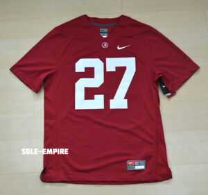 c2abcb5aa Alabama Crimson Tide Stitched Game day Jersey  27 Rare Roll Tide NEW ...