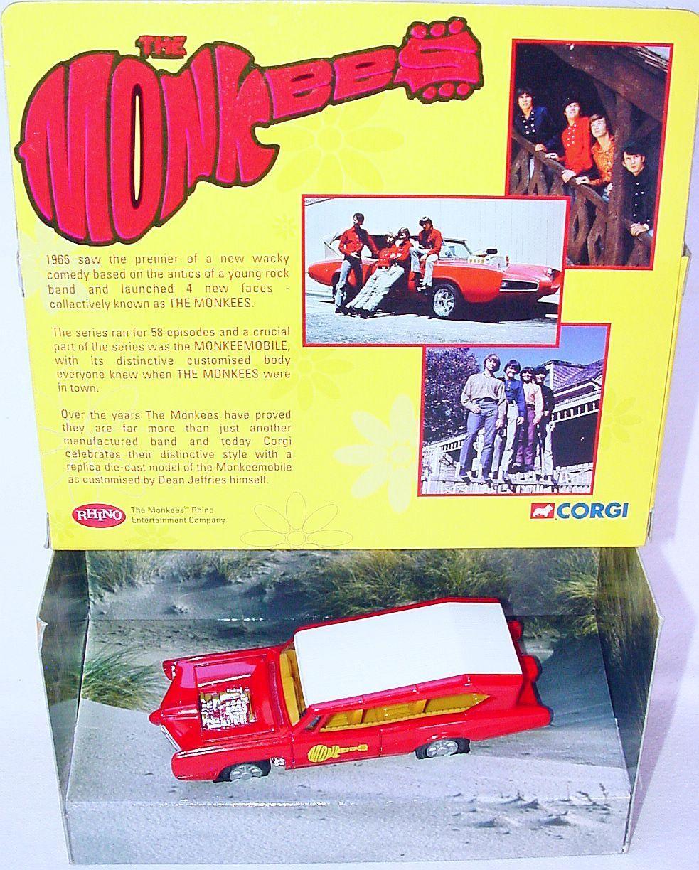 Corgi Toys  1 43 The Monkees Monkeemobile PONTIAC GTO TV Film Voiture 07104 En parfait état, dans sa boîte`01  haute qualité et expédition rapide