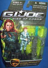 "GI JOE SHANA 'SCARLETT"" O'HARA Rise of the Cobra 2008 NIB New Covert Operations"