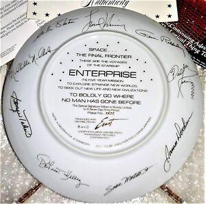 Image is loading RARE-Star-Trek-Ernst-Hamilton-10-1-4-  sc 1 st  eBay & RARE Star Trek Ernst Hamilton 10 1/4