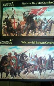 1//72 Medieval Military Order Sergeants Crusaders Strelets 088 Knightfall