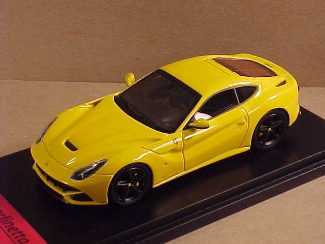 Fujimi 1 43 Resin 2012 Ferrari F12berlinetta Coupe, Modena Yellow  FJM1343013