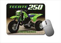Kawasaki Tecate 250 Mouse Pad Mousepad - Three Wheeler, 3 Wheeler, Motor Bike