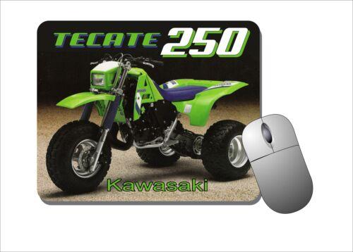 THREE WHEELER KAWASAKI TECATE 250 MOUSE PAD MOUSEPAD 3 WHEELER MOTOR BIKE