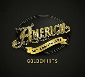 America-50-Golden-Hits-2019-50th-Jubilaeum-16-track-CD-Digipak-Neu-Verpackt