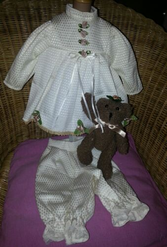 Puppenmode von Orchidee-Puppen Puppen & Zubehör Kleid-Set 3 Teile,eleg.