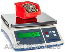 DIGITAL COUNTING PARTS COIN SCALE 66 x .002 LB 30 KG x 1 BIG 10 x 7 INCH TRAY