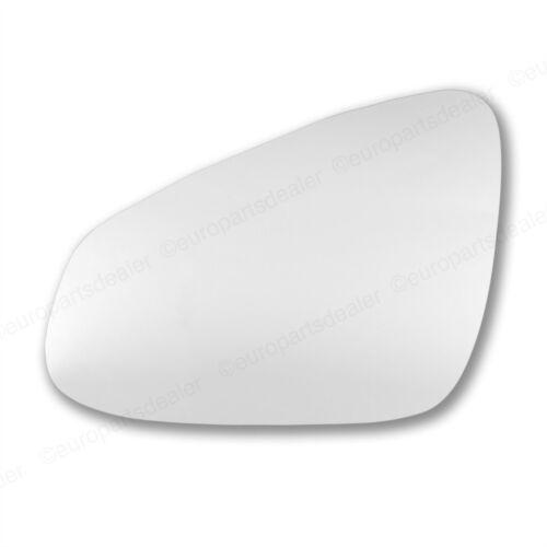 Para Citroen C1 2014-2016 Mano Izquierda Lado Pasajero Ala Convexa Cristal Espejo Puerta