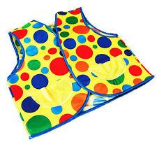 Nuovo Lusso Clown Gilet Stile Costume Adulti Si adatta fino a un petto size42