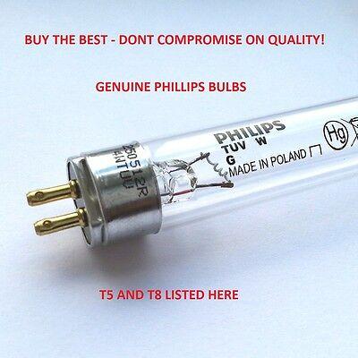 Phillips Pond Quality UV Bulbs Ultra Violet 15w 16w 25w 30w 55w ALL LISTED Fish