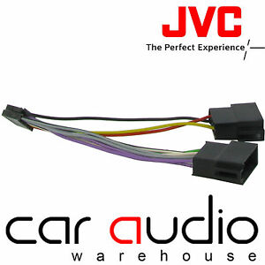 jvc 9 pin iso head unit replacement car stereo wiring. Black Bedroom Furniture Sets. Home Design Ideas
