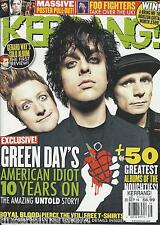Kerrang magazine Green Day Royal Blood Pierce the Veil Foo Fighters Posters