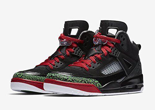 Nike de Jordan Spizike Hombre Zapatos de Nike baloncesto 315371-026 Negro Verde Rojo fccb18