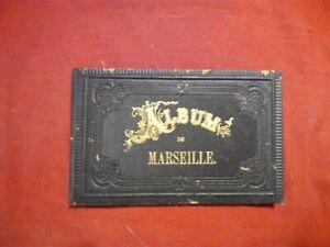 Album-de-Marseille-litho-AK-Frankreich-France