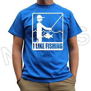 I like fishing funny comic offensive rude mens t shirts for Men s fishing apparel