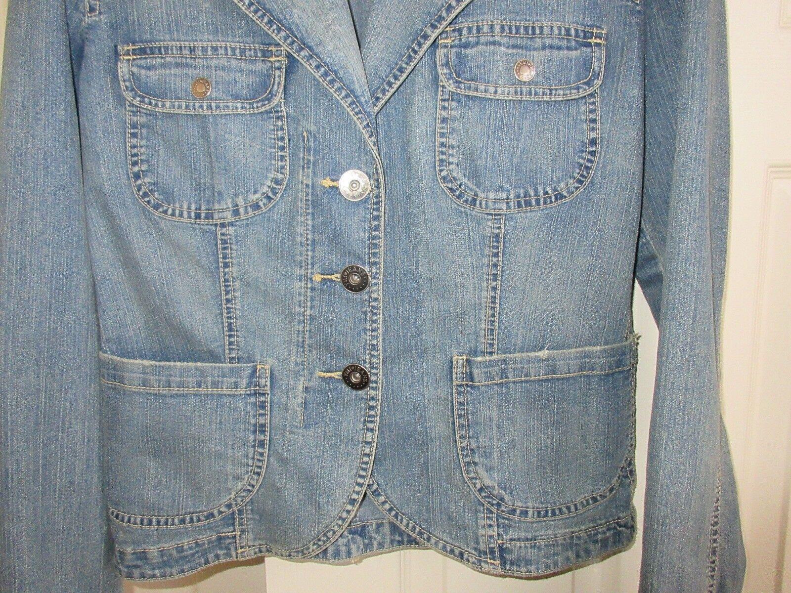 YMI , Ladies Denim Jean Jacket , Size XL , Vintage