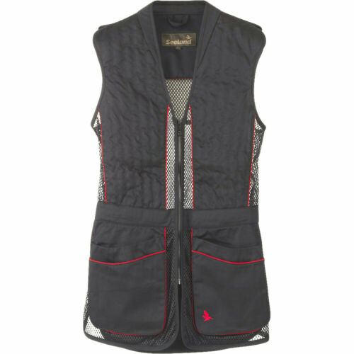 Seeland Skeet shooting Vest Gilet 11 in Nero