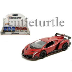 Jada Hyper Spec Lamborghini Veneno 1 32 Diecast Model Toy Car 30104