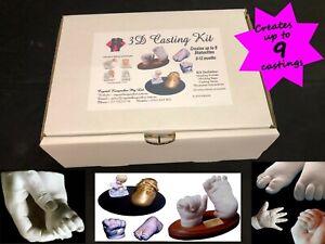 BABY-HAND-amp-FOOT-CASTING-KIT-100-Safe-TGA-REGISTERED