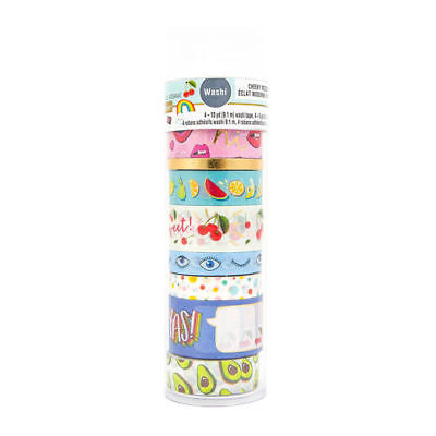 Modern Pop Yas  Washi Tape Tube By Recollections™ 536164 NEW