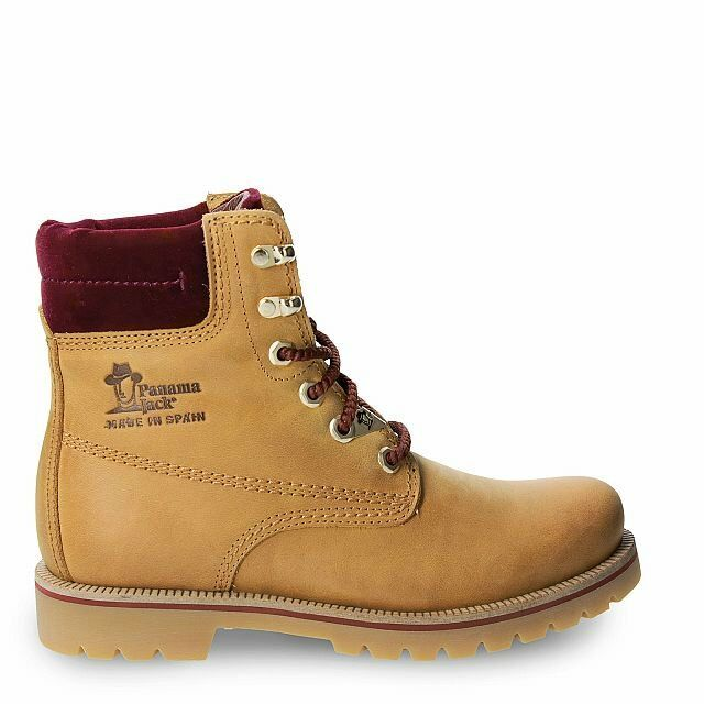 Grandes zapatos con descuento Panama Jack Damenschuhe Schuhe Stiefelette Boots Vintage Napa Weinrot Limitiert