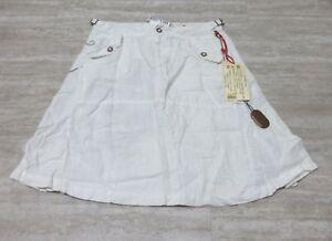 NEW Da-Nang Surplus Women/'s Mini Skirt Flare Buckle SUNFLOWER SKG245 SMALL S
