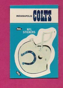 1987-COLTS-NFL-FOOTBALL-STICKERS-NRMT-MT-CARD-INV-A4980