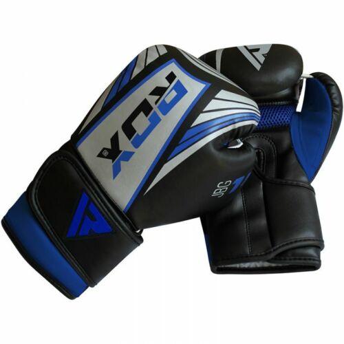 RDX 1U Demo Kids Heavy Boxing Unfilled MMA Punching Training Gloves Kickboxing
