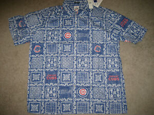 CHICAGO-CUBS-HAWAIIAN-SHIRT-039-CLASSIC-EMBLEMS-039-MLB-ALOHA-REYN-SPOONER-SZ-XXL-NWT
