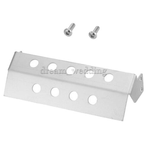 Silber Lenkung Sumpf Schutz für 1:10 RC Crawler RC4WD D90 Modell Auto