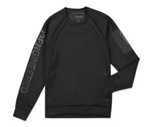 Mens-New-JORDAN-LIFESTYLE-FLIGHT-TECH-SHIELD-Sweatshirt-884025-010-Black-Size-L