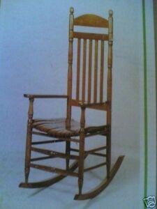 Brand New Solid Hardwood Rocking Chair Ebay