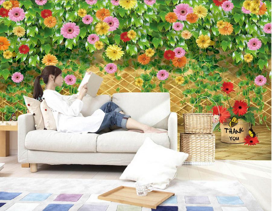 3D Zaun Grüne Grüne Grüne Rebe 743 Tapete Wandgemälde Tapete Tapeten Bild Familie DE Summer   Spielen Sie Leidenschaft, spielen Sie die Ernte, spielen Sie die Welt  ccf414