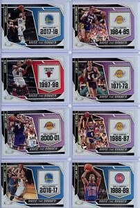 2019-20 Panini Certified Basketball Raise The Banner Singles - Pick Your Players