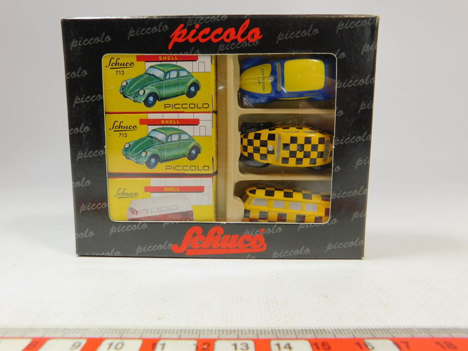 As217-0, 5  Schuco Piccolo 1 1 1 90 01710 Geschenkset Lufthansa  Beetle etc. , NIP 33511e